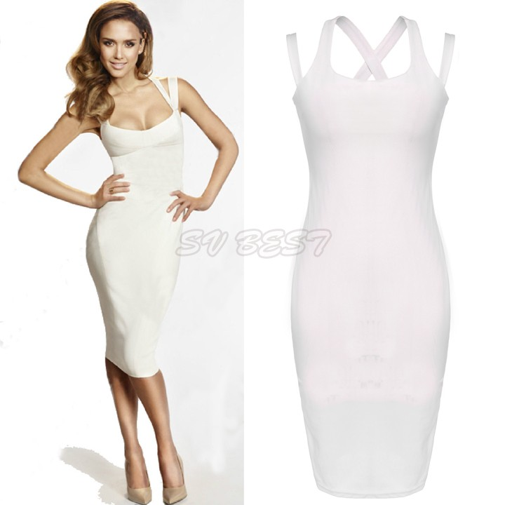 Excellent 2016 New Style Women Career Work Dress One Piece Knee Length