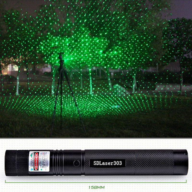 2015 Hot selling SD Laser 303 Strong Power Green laser pointer burning Matches lazer with safe key(without battery and charger)<br><br>Aliexpress