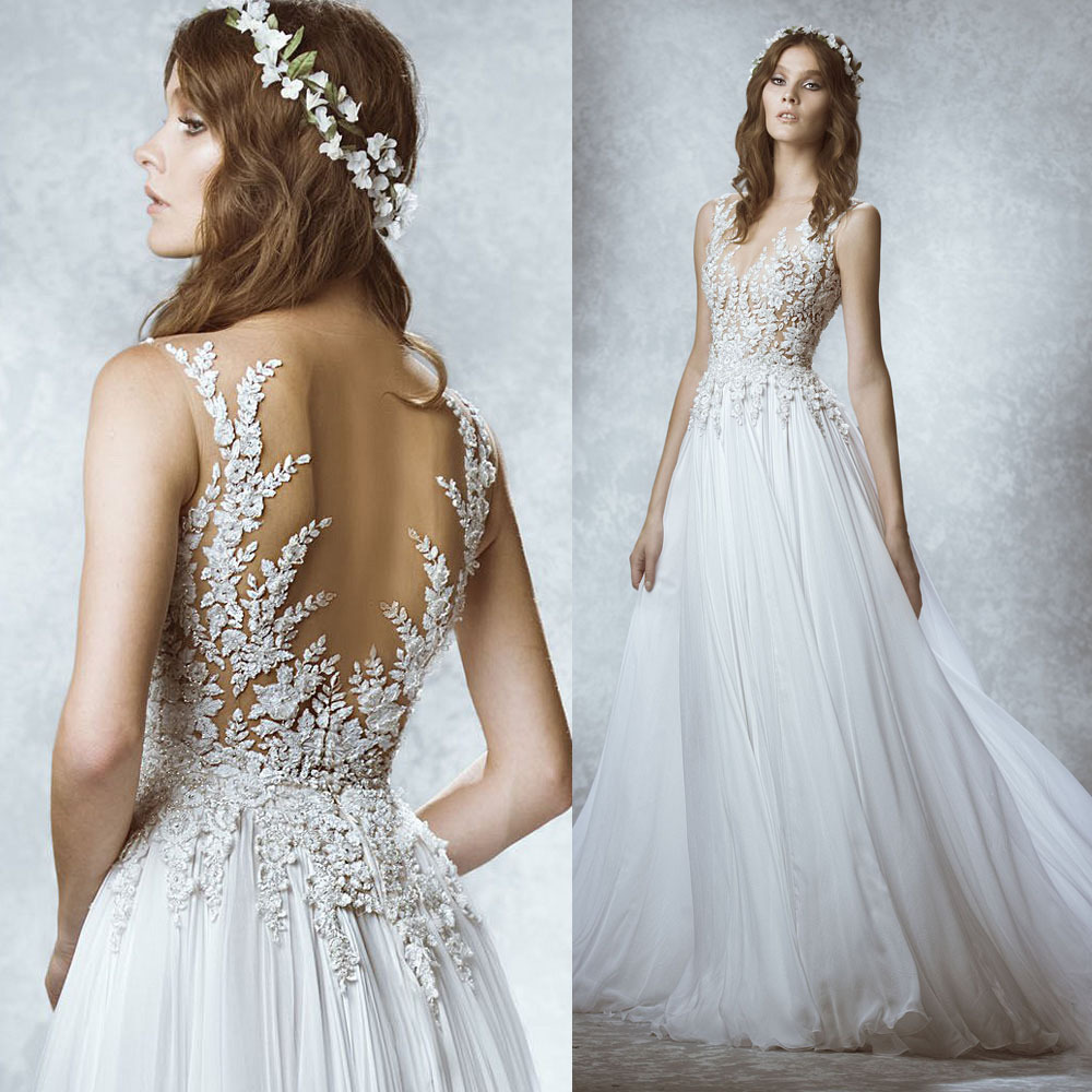 Unusual Couture Beach Wedding Dresses Pictures Inspiration - Wedding ...