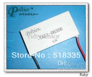 cooling!Peltier TEC1-06306 7.6V 6A 27W 20*40MM Thermoelectric Cooler Peltier Plate Manufacturer Warranty(China (Mainland))