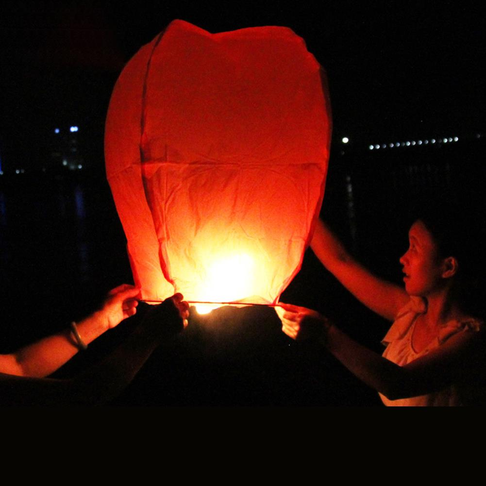 Гаджет  HOT! Big Chinese KONGMING Lanterns Fly Sky Candle Lamp Flying Wishing Paper Light For Wish Party Wedding None Игрушки и Хобби