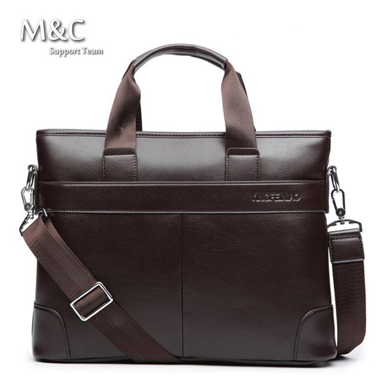 2016 Men Briefcase Business Shoulder Bags Leather Bag Handbag Men Messenger Bag Laptop Men's Travel Bags OB-007(China (Mainland))