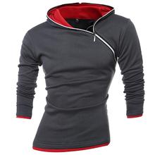 2017 Hoodies Men Sudaderas Hombre Hip Hop Mens Brand Leisure Zipper Jacket Hoodie Sweatshirt Suit Slim Fit Men Hoody XXXL 339KS(China (Mainland))