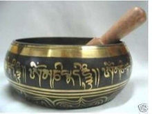 Collections GLORIOUS OLD YOGA RARE TIBETAN SINGING BOWL CHINESE ANTIQUE BOWLS