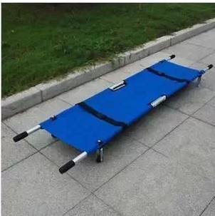 portable EMERGENCY SUPPLIES Stretcher thickening type aluminum alloy stretcher medical ambulance car stretcher folding(China (Mainland))
