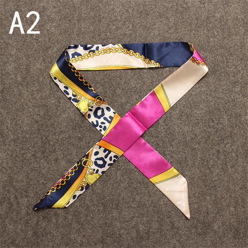 2016 Hot Sale woman scarves small scarf Twilly bandage fashion bag for Ladies handbag straps for girl headbang(China (Mainland))