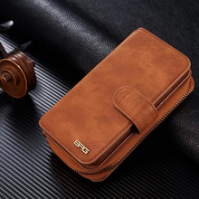 For Samsung Galaxy S7 Edge Leather Mobile Bags Phone Case Multi Function Wallet Cover With Card Slot Fit for Girls Business