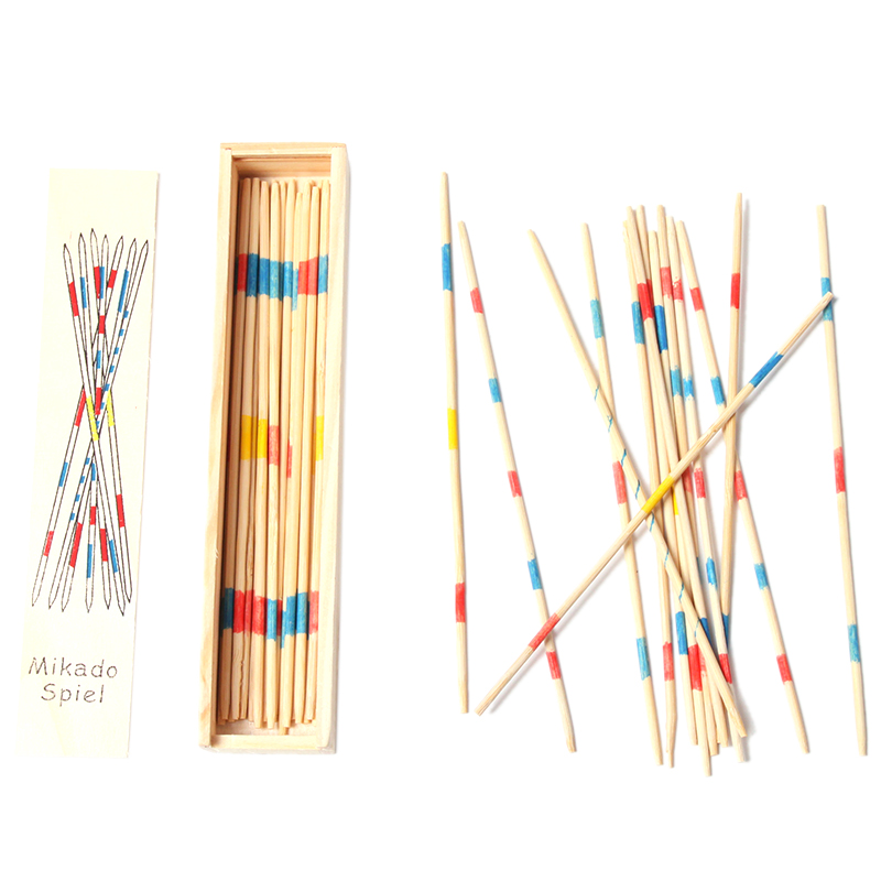 Free Shipping Educational toy materials classic math puzzle toys for baby multiplayer games caesar stick Count pick sticks game(China (Mainland))