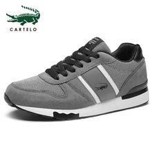CARTELO mannen Schoenen Casual Canvas Schoenen Mode Sneakers Zomer Trainers Leisure Schoenen Zachte Comfortabele Schoenen Mannen Eenvoudige(China)