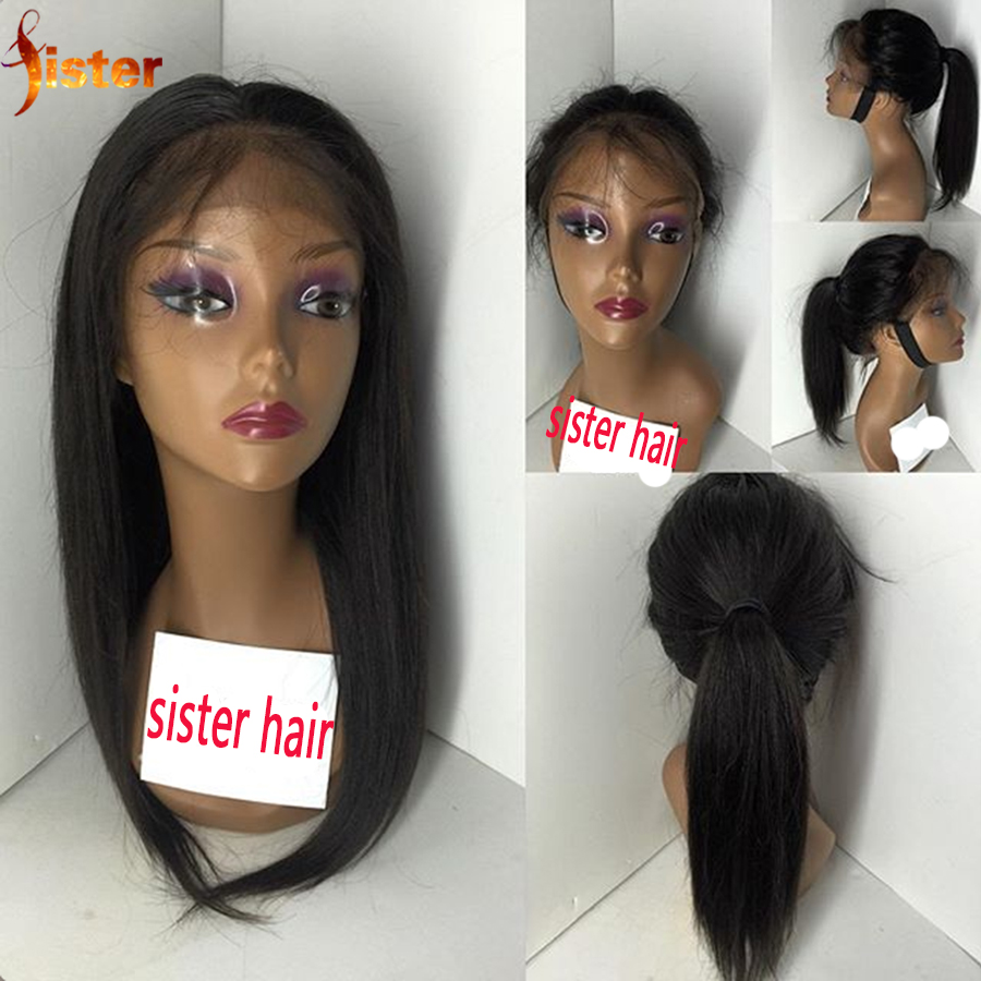 Long Silky Straight Human Hair Wigs Glueless Lace Front &amp; Full Lace Human Hair Wigs Brazilian Straight Lace Front WIgs 10-26inch<br><br>Aliexpress