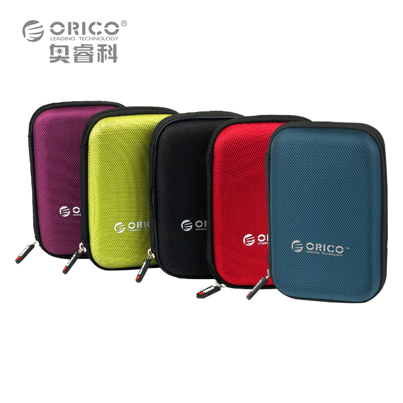 ORICO PHD-25 2.5 Inch Protection Bag for External Portable HDD Box Case-Black/Red/Green/Purple/Blue