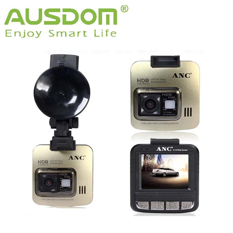 2015 Newest AUSDOM Car Camera DV Recorder 150 Degree Wide Angle A750 Ambarella A7 High-definition Digital Video Recorder DVR(China (Mainland))