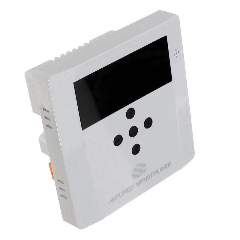 1 unids Home Audio System sistema de música de altavoces de techo amplificador Digital estéreo Bluetooth en la pared amplificador(China (Mainland))