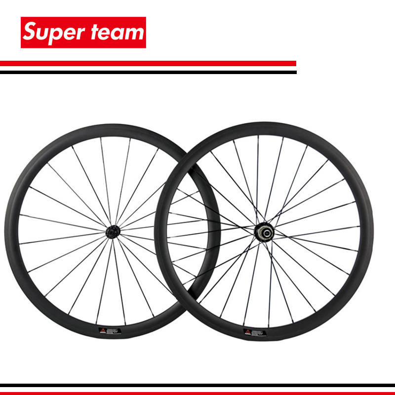 2016 Hot 38mm Matte Carbon Road Bike Wheels 700c Tubular Wheelset Black Alloy nipples(China (Mainland))