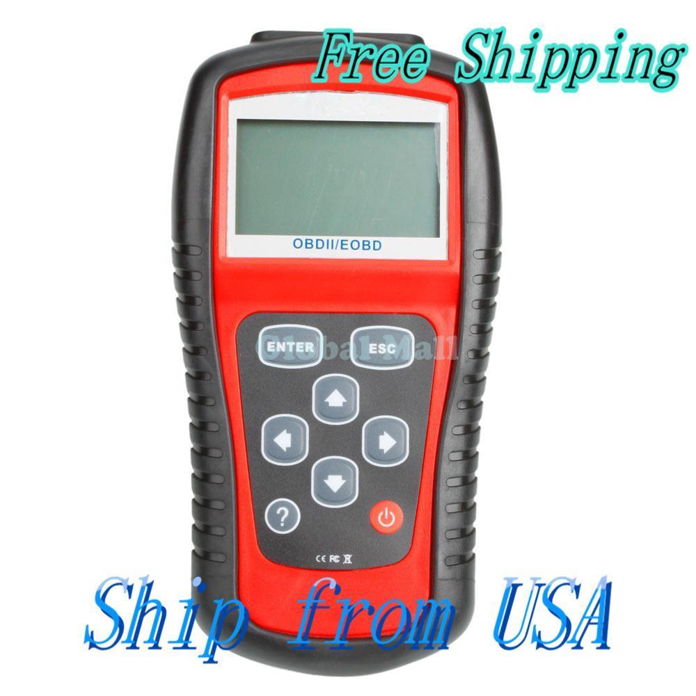 Ship From USA New OBD2 II EOBD Car Diagnostic Code Reader Live Data Q00538(China (Mainland))