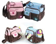 free shipping carter cute diaper bags mummy bags--two colors-bule and pink(China (Mainland))