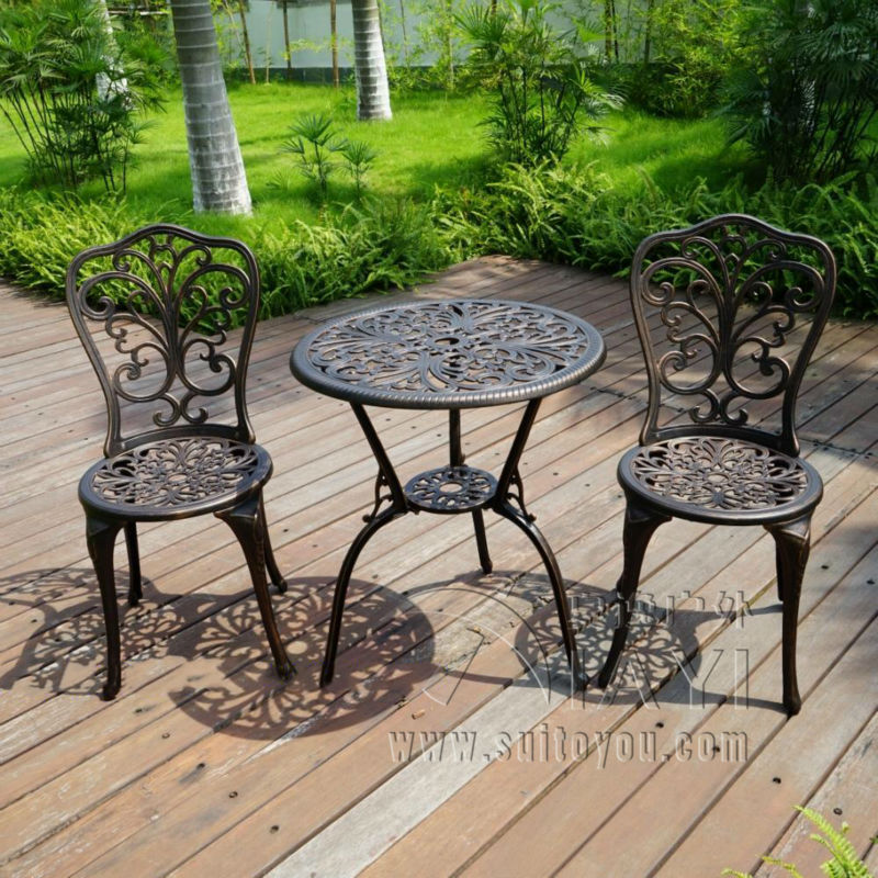 online buy wholesale cast aluminum patio furniture sets