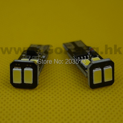 100pcs/lot new model nice color w5w 194/168 led t10 strobe 5630 6smd obc no polarity car led bulbs lamp light Free shipping(China (Mainland))