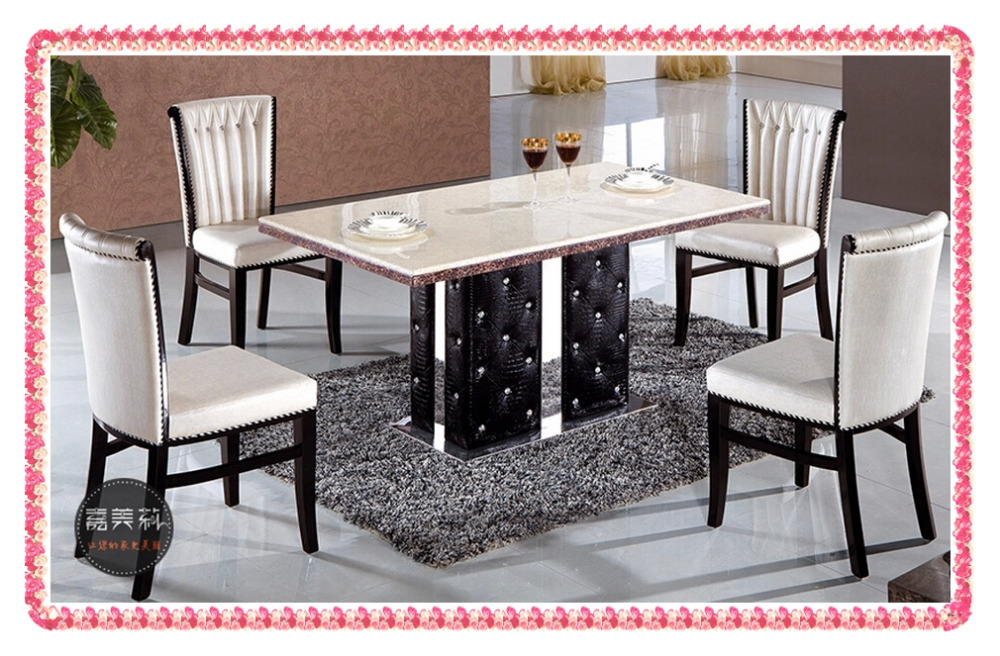 Modern White PU family dining chairs solid wood chairs  korea fashion <br><br>Aliexpress