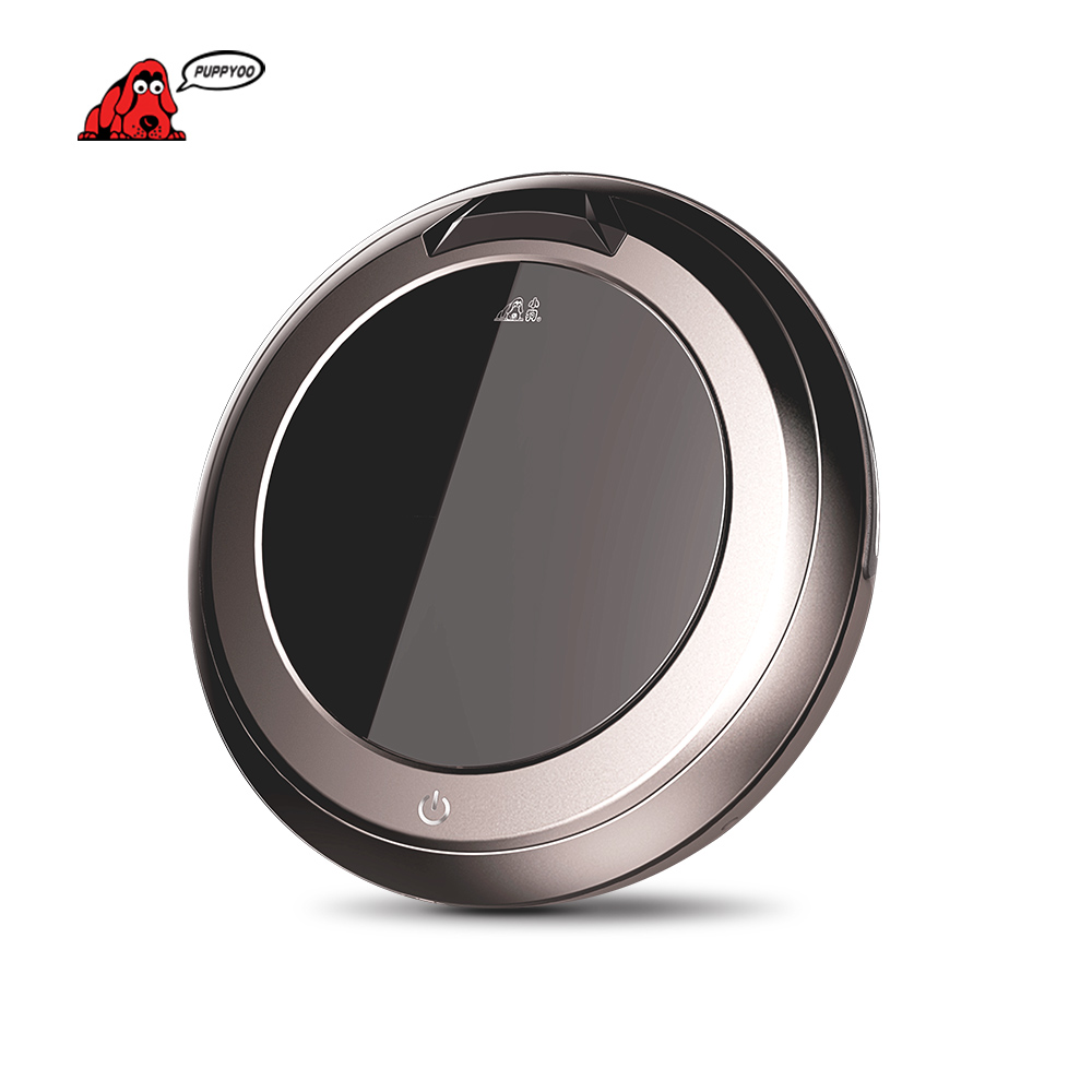 Multifunction Intelligent Robot Vacuum Cleaner Self-Charge Home Appliances ,Vacuums ,Remote Control, Side Brush V-M611 PUPPYOO()