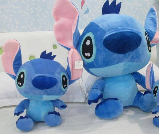 2015 new cute dog Stitch doll lovely small plush toy birthday gift high quality and safety(China (Mainland))