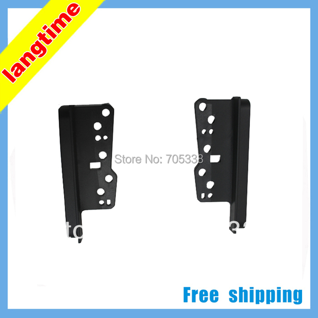 Universal Bracket For Toyota Double Din Stereo Panel Fascia Radio DVD Dash Mount Trim Kit Refit From 200*100mm to 178*102mm