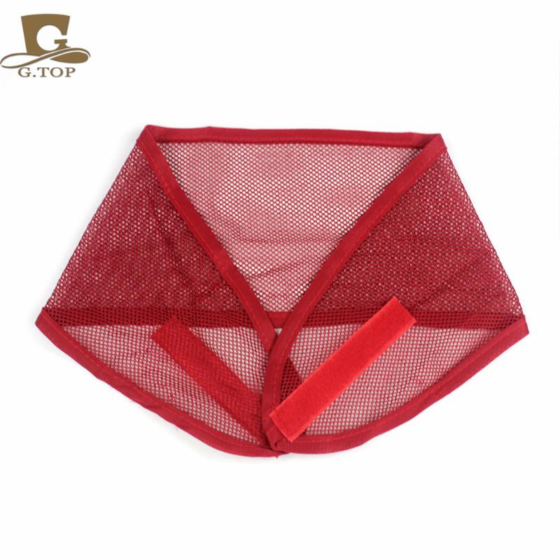 2016 new fashion women Velcro Closure mesh Wrap Comfortable Wide Adjustable headband hair band hair net G -294(China (Mainland))