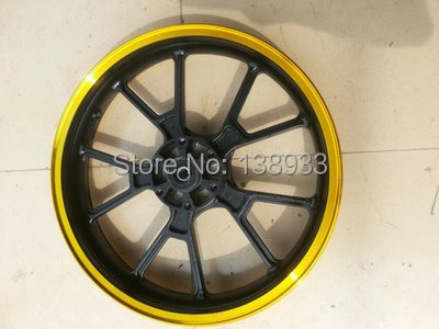 Front and rear motorcycle wheel rims 17 inch front and rear(China (Mainland))