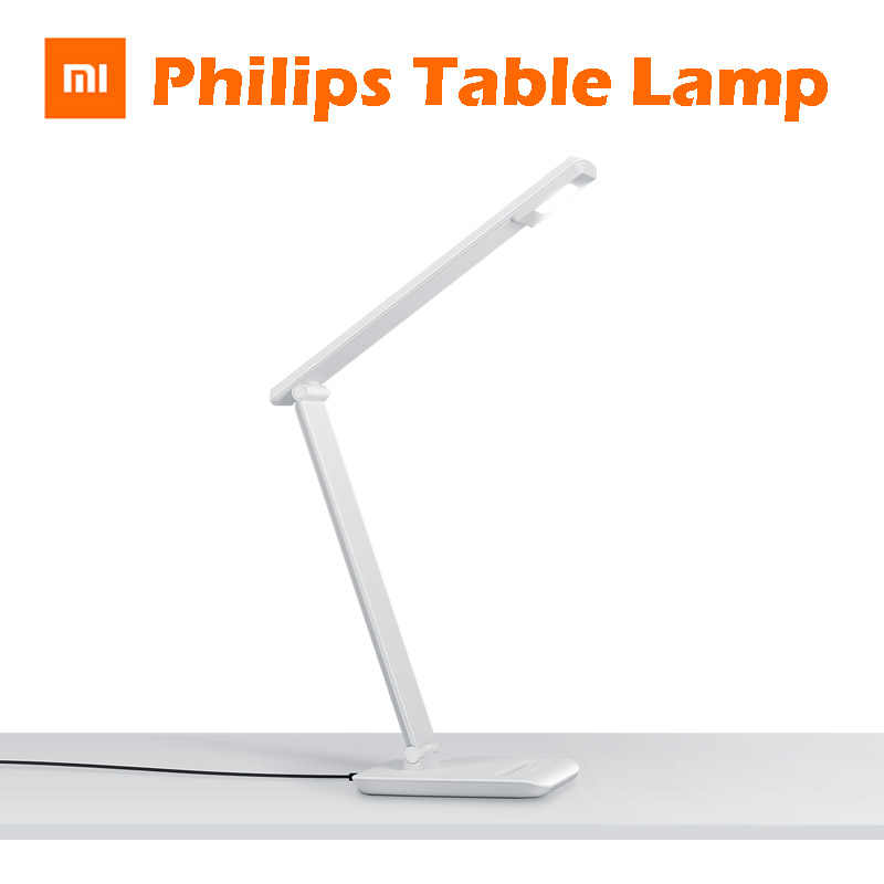 Original Xiaomi For Smart Philips Desk Light MiHome APP Remote Control Power Bank Comupter Portable Shining Led Lamp(China (Mainland))