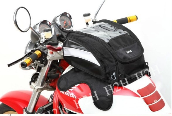 Фотография Free shipping fashion rain oil bags / motorcycle bag / shoulder bag / Magnetic Mount brigade essential package
