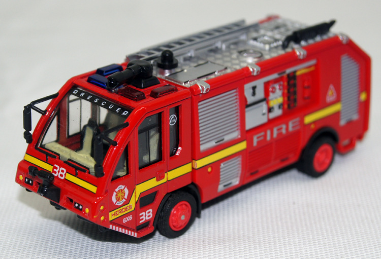 American Classic Alloy Fire Engines Pull Back Toys Model Car Musical And Flashing Children Gifts Special Collection truck toy #D(China (Mainland))