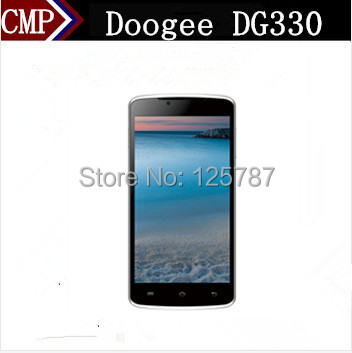 Russian Multi Languages Doogee MINT DG330 5 Inch MTK6582 Quad Core Android 4.2 1GB/4GB 5MP Dual Sim 3G GPS Smart Phone(China (Mainland))
