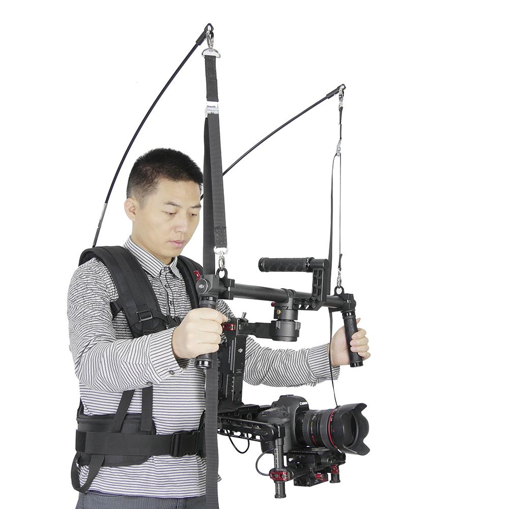 Like EASYRIG 4-11kg video film Serene dslr DJI Ronin M 3 AXIS gimbal stabilizer Gyroscope steadicam vest Atlas Camera Support(China (Mainland))