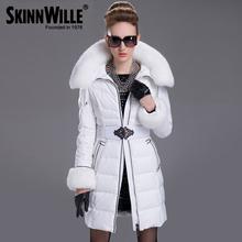 Chaqueta de abrigo para mujer, tamaño delgado y largo – Talle S-2XL