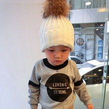 2015 New Arrive Fashion Winter Real Raccoon Fur Hats Real Fur pompom Beanies Cap Natural Fur Hat For Kids/Children/boys/girls(China (Mainland))
