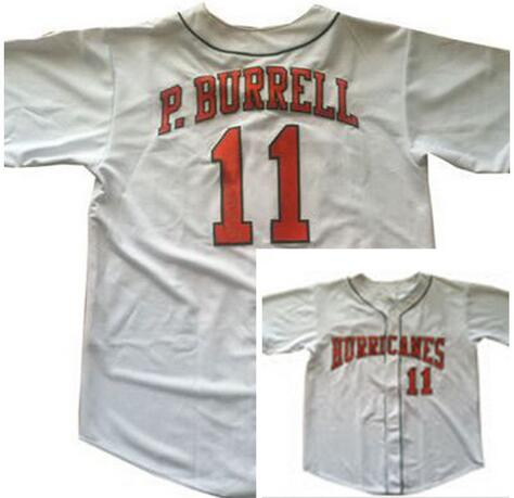 Deluxe Edition Mens #5 Pat Burrell Jersey,University of Miami Hurricanes College Baseball Jerseys Stitched Jerseys(China (Mainland))