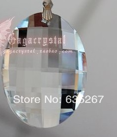30pcs/lot ,Free shipping, transparent 38mm crystal faceted tear pendant,crystal chandelier pendant for DIY curtain pednant<br><br>Aliexpress