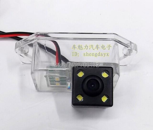 4 led nightvision Special car camera for MITSUBISHI LANCER/LANCER EX