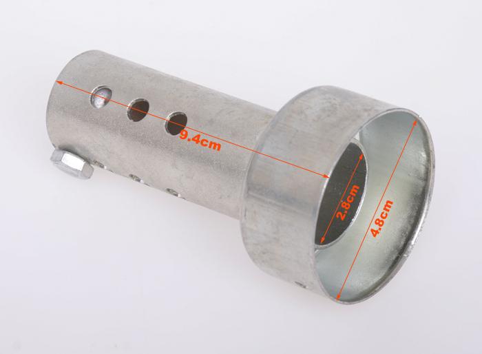 Флейта для глушителя мотоцикла