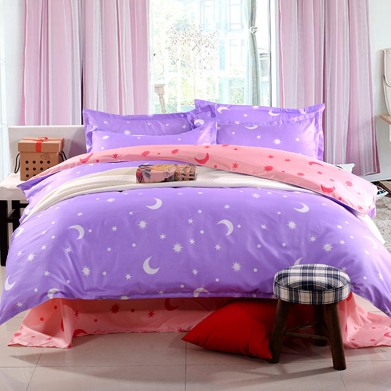 Popular pink purple comforter buy cheap pink purple - Hot pink and purple bedding ...