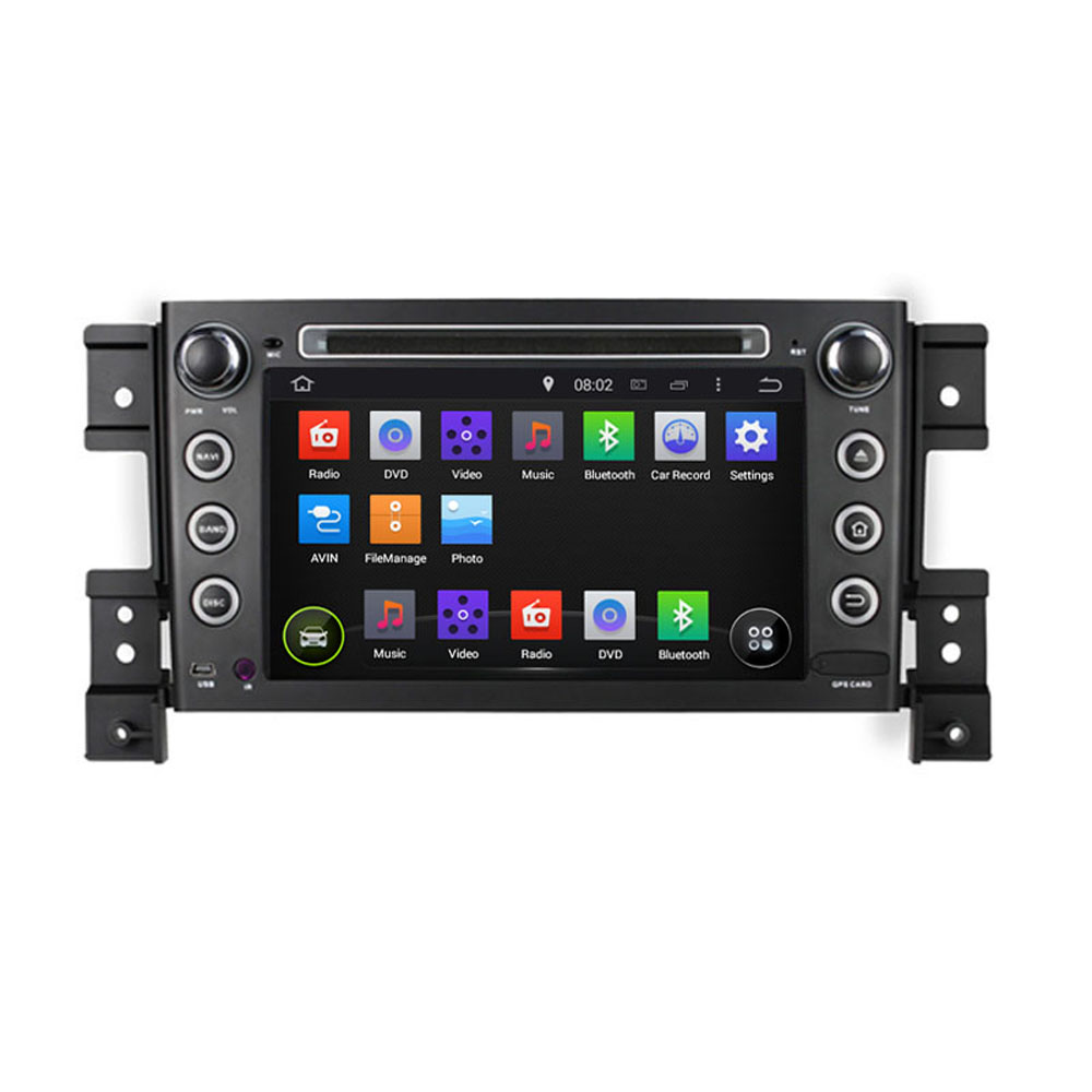 ROM 16G 1024*600 Quad Core Android 5.1.1 Fit SUZUKI GRAND VITARA 2005 - 2012 2013 2014 2015 Car DVD Player Navigation GPS Radio(China (Mainland))