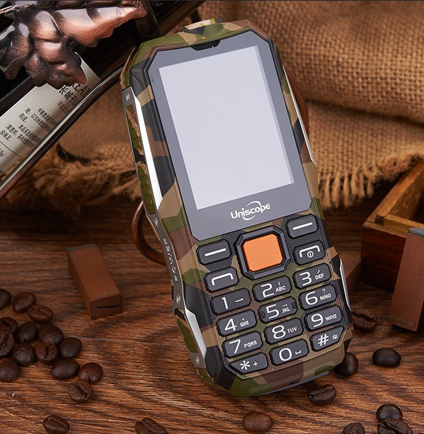 New 2G Unlock GSM Dual 2 Sim Mobile Phone High Power Dust-Proof Water Resistant Shock Proof Military Fashion Feature Cell Phone(China (Mainland))