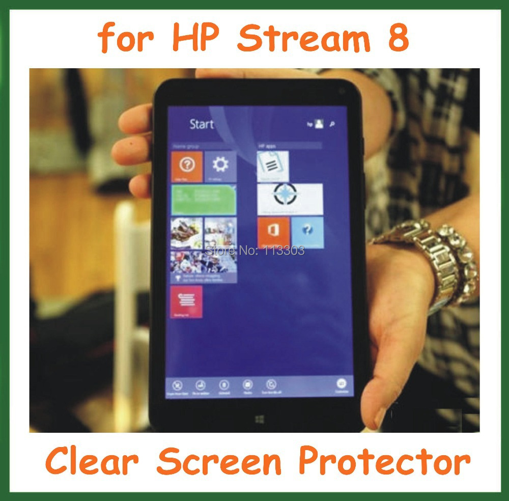 Ultra Clear Screen Protector Protective Film HP Stream 8 Tablet PC inch NO Retail Package - Doldol (HK store Co., Ltd)