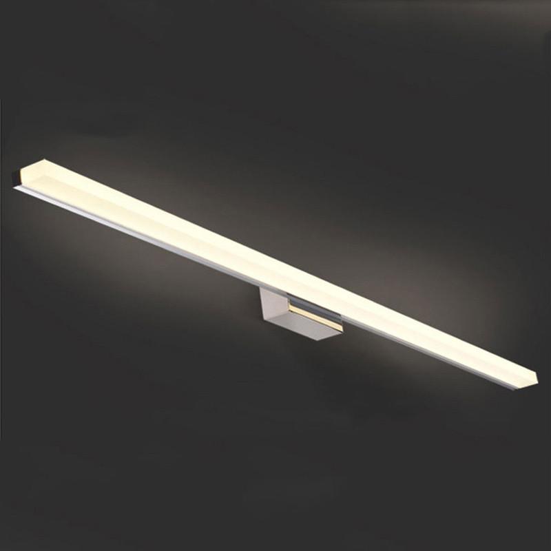 1200mm Long Bathroom Mirror Light 85 265v 16w Led Bedroom Mirror Lamp Foyer Study Wall Sconce