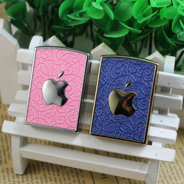USB charging electronic cigarette lighter sexy logo lighters pink mobile phone logo metal lighter usb cigar smoker shape famous(China (Mainland))
