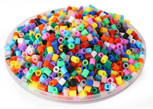1000pcs/bag 5mm 48 colors hama perler beads EVA kids children DIY handmaking fuse bead Intelligence Educational Toys Craft GYH(China (Mainland))