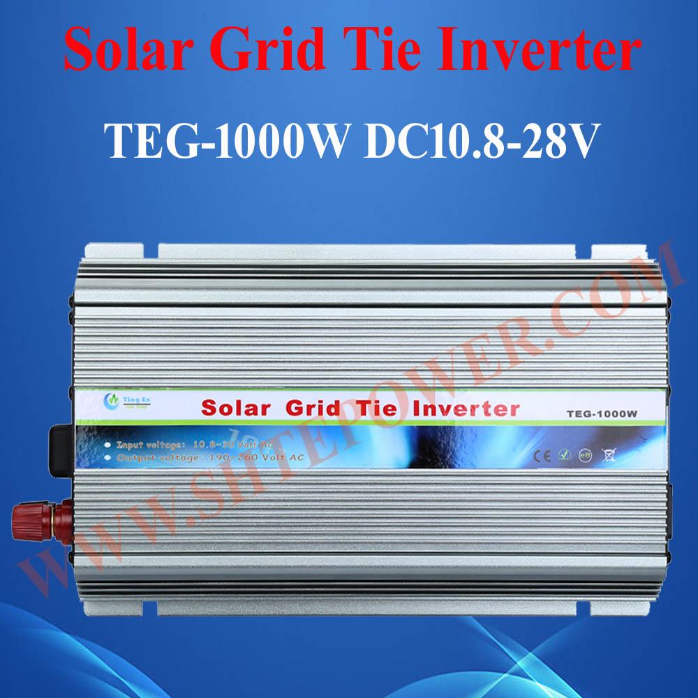 Wonderful using ce rohs 24v 1000w solar inverter grid(China (Mainland))