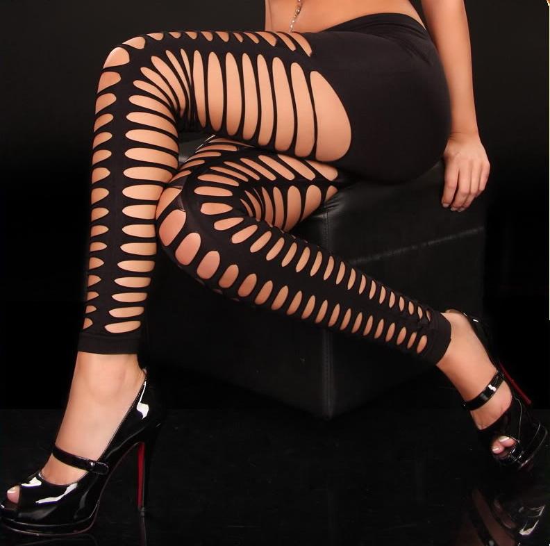 Mesh Ladder design leggings. SL8330 Sexy Leggings For Women+Free shipping(China (Mainland))