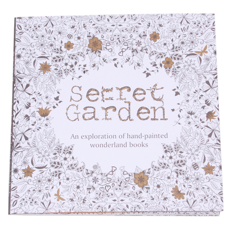 Free Secret Garden Book Coloring Pages