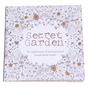 2015 секретный сад книжка-раскраска английская версия рисунок книга расслабиться сами интересный охота за сокровищами граффити книги